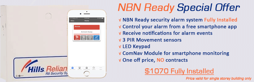 NBN Ready Security System